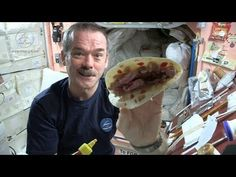 Astronaut Chris Hadfield and Chef Traci Des Jardins Make a Space Burrito - YouTube