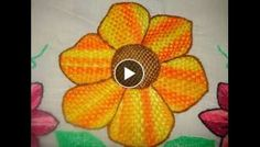 Knitting Embroidery Videos and Lessons Our Code, Designs For Dresses, Hand Embroidery Stitches, Flower Patterns, Adidas, Beads, Knitting, Craft, Totes