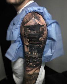 Vintage Tattoo Sleeve, Mermaid Sleeve Tattoos, Wolf Tattoo Sleeve, Forearm Sleeve Tattoos, Single Rose Tattoos, Rose Tattoos For Men, Trendy Tattoos, Girl Tattoos, Tatoos
