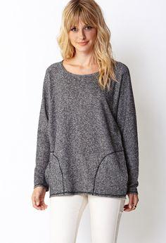 Favorite Heather Sweatshirt | FOREVER21 - 2000072067
