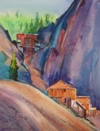 """Early Morning Commodores 22"""" X 17""""                  Stephen Quiller"""