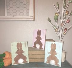 Peter cottontail, easter decor, bunny decor, spring decor, easter bunny, wood sign, home decor, happy easter, easter wood sign, spring sign by BlessedMessCo on Etsy https://www.etsy.com/listing/512055507/peter-cottontail-easter-decor-bunny