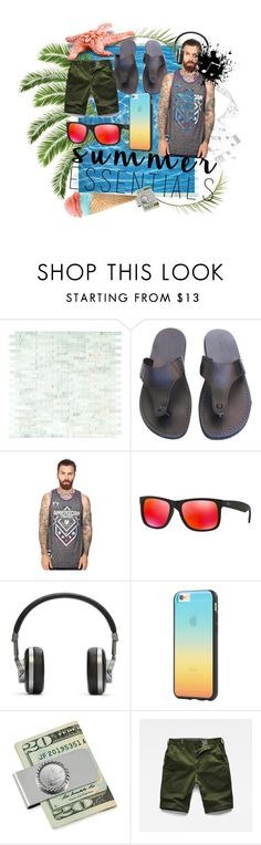 """""""♪ ♫ ♩ ♬It never rains in Southern California♪ ♫ ♩ ♬"""" by liliofthedesert on Polyvore featuring Music Notes, American Fighter, Ray-Ban, Master & Dynamic, Tavik Swimwear, American Coin Treasures, G-Star Raw, men's fashion and menswear"""