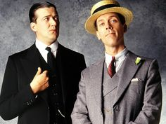 Jeeves and Wooster. Gentlemen do not wear straw hats in the metropolitan.