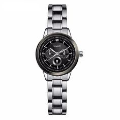 Brand Name:SINOBI Gender:Women Style:Fashion & Casual Movement:Quartz Case Material:Stainless Steel Band cm Water Resistance Feature:Water Resistant, Shock Resistant Dial mm Band Material Type Stainless Steel Band mm Case mm Casual Watches, Stainless Steel Case, Fashion Bracelets, Fashion Watches, Watch Bands, Luxury Branding, Bracelet Watch, Wrist Watches, Women's Watches