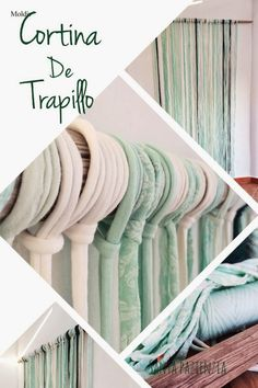 Ideas para decorar con Trapillo