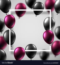 White festive background with square frame and Vector Image Happy Birthday Wishes Photos, Happy Birthday Art, Happy Birthday Wallpaper, Happy Birthday Messages, Happy Birthday Greetings, Birthday Card Background, Birthday Photo Frame, Birthday Frames, Birthday Photos