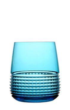 Intervalle | Pierre Charpin for Crystal Saint Louis  http://www.saint-louis.com/fr/le-bar/gobelets-et-chopes/gobelet-intervalle-bleu-clair.html