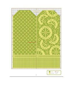 Billedresultat for vanter diagram Knitted Mittens Pattern, Knit Mittens, Knitted Gloves, Knitting Socks, Knitting Charts, Knitting Stitches, Knitting Patterns, Crochet Patterns, Wrist Warmers