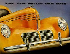 Willys 1940.