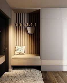 Foyer Design, Hallway Designs, Home Room Design, Hallway Ideas, Home Entrance Decor, House Entrance, Apartment Entrance, Home Decor, World Decor