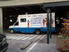Bookmobile (side view) @ the Everett Public Library in Everett WA   Flickr - Photo Sharing!
