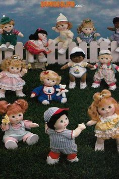 My Child | 15 Toys From The '80s You Might Have Forgotten About  These slightly unsettling looking dolls were released as a competitor to the (equally as creepy) Cabbage Patch Kids. Unfortunately they never managed to catch on