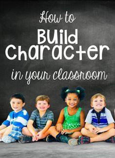 How to Build Character in Your Classroom • What I Have Learned - Suggestions and ideas on how to build community and develop students' character through year-long activities.