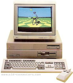 The Amiga 2000 an awesome graphics computer way ahead of its time.  Commodore never marketed enough to become popular.  My dad still has it in his basement.