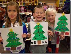 Christmas Trees - good for symmetry