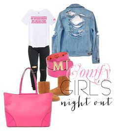"""""""Untitled #189"""" by iamtinaa on Polyvore featuring High Heels Suicide, Victoria's Secret PINK, MCM, UGG Australia and girlsnightout"""