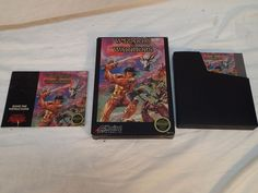 WIZARDS AND WARRIORS Nintendo NES Game Complete w/ Box, Manual, Sleeve & Cart