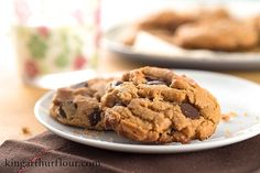 Flourless Peanut Butter Chocolate Chip Cookies | Flourish - King Arthur Flour's blog