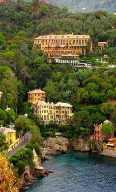 Hotel Splendido, Portofino, Italy by Eva0707