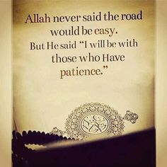 Allah ﷻ has perfect timing, Never early, never late It takes a little patience and a lot of faith Make ...