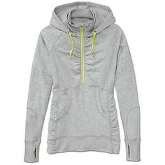 Heavenly Hail Hoodie - This French terry hoodie is made from a super-soft, stretch cotton/modal blend and features sweet shirring details.