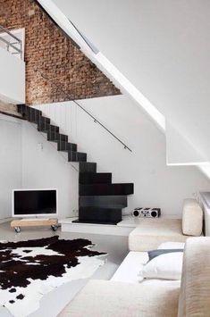 Современная железная лестница #stair #design