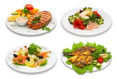 Photo about Four fish dishes. Image of assorted, delicious, healthy - 2525731 Vegetarian Paleo, Paleo Diet, Paleo Recipes, Asian Recipes, Military Diet Menu, Smoked Fish, Health Eating, Recipe For 4, Allergies