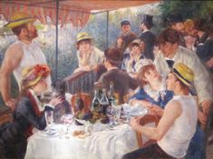 Pierre Auguste Renoir The Boating Party Lunch painting for sale, this painting is available as handmade reproduction. Shop for Pierre Auguste Renoir The Boating Party Lunch painting and frame at a discount of off. Pierre Auguste Renoir, Most Famous Paintings, Great Paintings, Famous Artists, French Paintings, Classic Paintings, Popular Paintings, August Renoir, Renoir Paintings