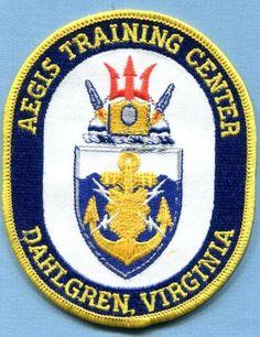 AEGIS TRAINING CENTER DAHLGREN VA US NAVY MISSILE CRUISER Ship Squadron Patch