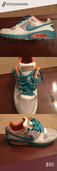 e77f95c1a857 Nike Air Max ST 92 Teal and Orange. Miami Dolphin Colors. Really good