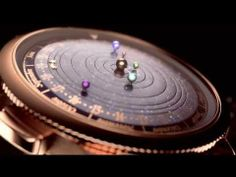 Van Cleef & Arpel : This #watch puts beautifully #rotating #planets on your wrist : via @Jared Randall Randall Kalich