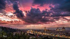 Florencia, una ciudad de leyenda, sobre todo cuando caen las sombras