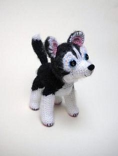 crochet husky                                                                                                                                                                                 More