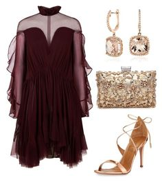 """""""Untitled #804"""" by mchlap on Polyvore featuring Jonathan Simkhai, Aquazzura and Blue Nile"""