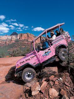 Pink Jeep Tours - most extreme!  Sedona, AZ