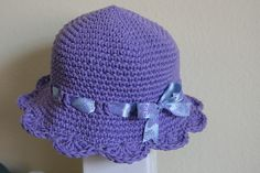 Crochet hat for Lily