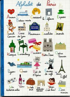 L'Alphabet de Paris by Marion Billet