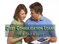 Easy Loans UK is a professional online credit lender presenting an exciting deal on debt consolidation loans for bad credit people in the UK. These loans help people in controlling their debts by getting easy money into their bank account. Moreover, applying for these loans is also very easy at Easy Loans UK because everything here is done through online mode. To know more on debt consolidation loans in the UK, visit: http://www.easyloansuk.uk/debt-consolidation-loans/
