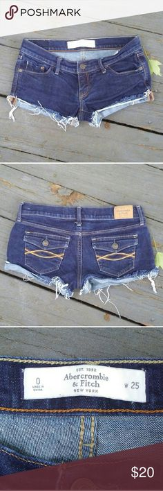 ?? Abercrombie & Fitch Jean Shorts ?? These are pre-owned but are still stylish and in excellent condition. Sadly, they just don't fit anymore. Feel free to ask any questions! ?? Abercrombie & Fitch Shorts Jean Shorts