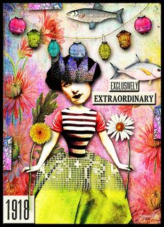 Extraordinary by Joyuslion I had fun with the new kit from Tumble Fish Studio called Misfit Ladies Society! At MC