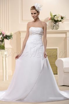 Wedding dress size 14w