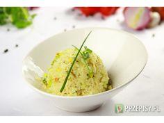 Ryżowa sałatka z porem