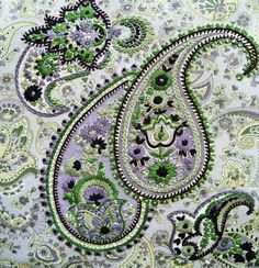 Paisley, made by hand. Inspiration. no instruction @Anna Totten Totten Halliwell Boyd Fontaine Collection