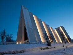 Tromsdalen Kirke (Arctic Cathedral), Tromsø - Norway