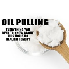 What is Oil Pulling and How Does it Work? Oil pulling is a holistic healing remedy that has been used for thousands of years. It involves putting about a tablespoon of oil in your mouth, then swishing it around your teeth for 10-20 minutes.