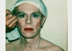 Andy Warhol - Self-portrait in drag