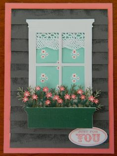 Window Box Wishes by by ann - Cards and Paper Crafts at Splitcoaststampers