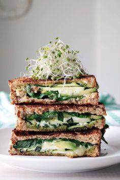 Veggie sandwich: Green Goddess Sandwich