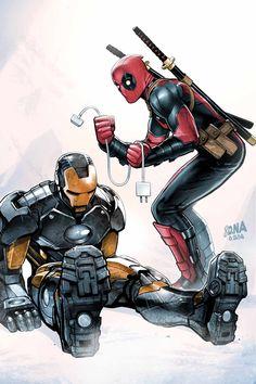 #Deadpool #Fan #Art. (DEADPOOL 75th VARIANT COVER) By: David Nakayama. (THE * 5 * STÅR * ÅWARD * OF: * AW YEAH, IT'S MAJOR ÅWESOMENESS!!!™) [THANK U 4 PINNING!!!<·><]<©>ÅÅÅ+(OB4E)